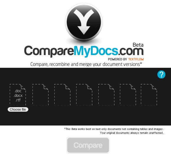 Compare documentos online