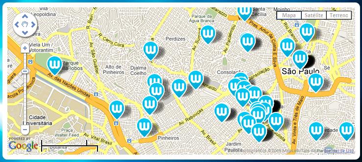 WaiFi: Sinal wireless grátis