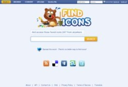 Mecanismo de busca para ícones