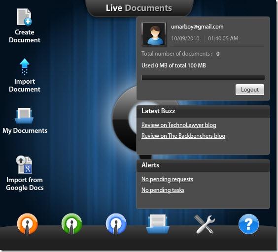 Crie e edite arquivos do Office online