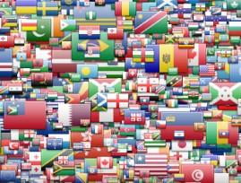 Ícones de bandeiras do mundo