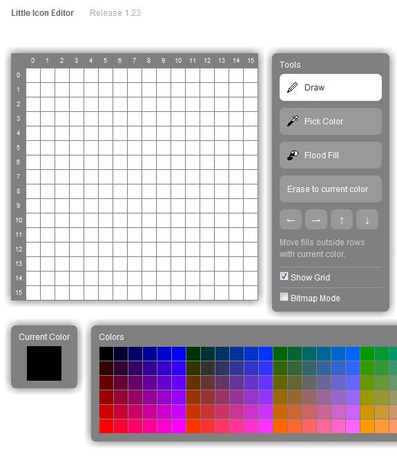 Editor de ícones online