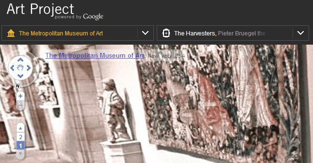 Como visitar museus virtuais com o Google
