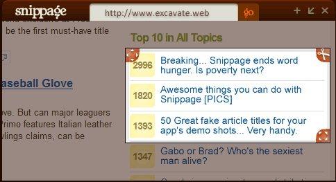 Crie widgets de qualquer site no desktop