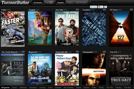 Como encontrar torrents de filmes