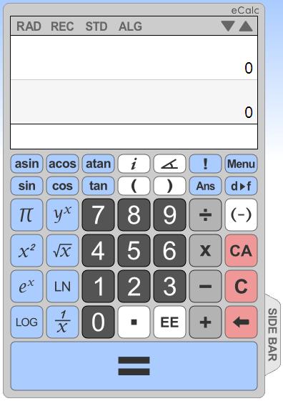 As melhores calculadoras científicas online