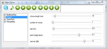 Aplique efeitos em sua voz no Skype
