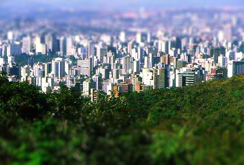 "Como aplicar o efeito ""tilt shift"" sem usar Photoshop"