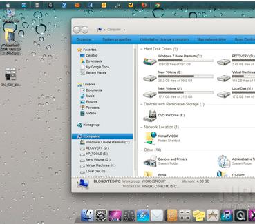 Deixe seu Windows 7 com o visual do iOS