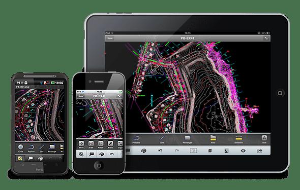 AutoCAD grátis para Android, iPhone e iPad
