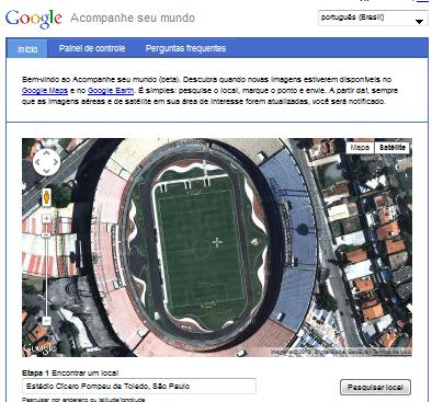 Saiba quando o Google Maps atualizar fotos de satélite da sua casa