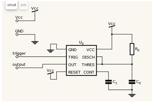 Como desenhar de circuitos eletrônicos online
