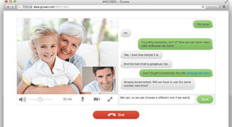Faça chamadas de áudio e vídeo online de graça