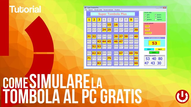 Come simulare la tombola al PC gratis