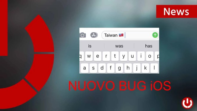 Nuovo bug iOS che manda in tilt i dispositivi