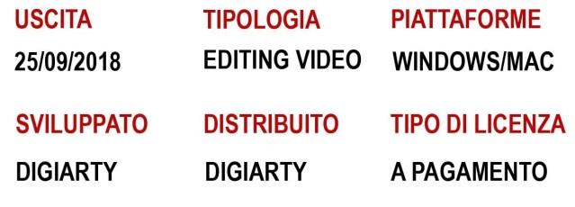 VideoProc scheda tecnica