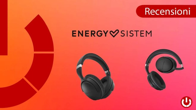 Recensione cuffie wireless Energy Sistem