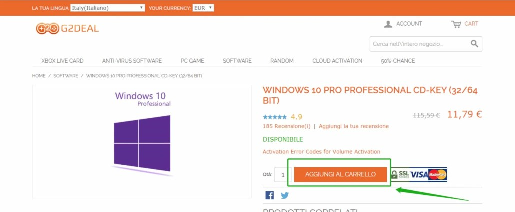Sconti Windows 10 e Office 2019