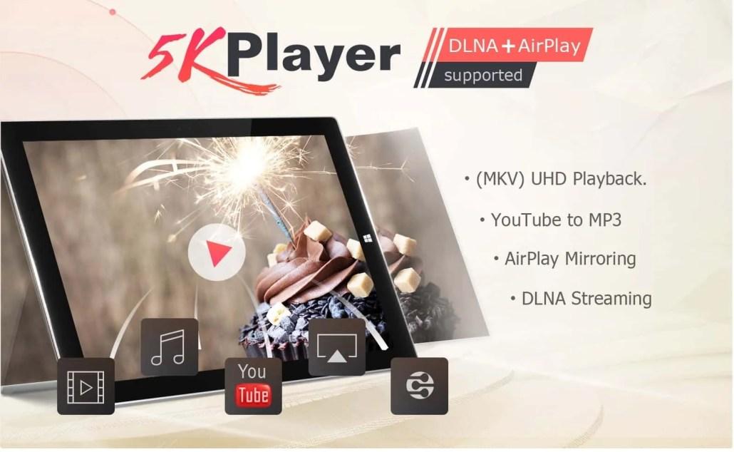 Ecco la migliore alternativa a VLC - 5K Player