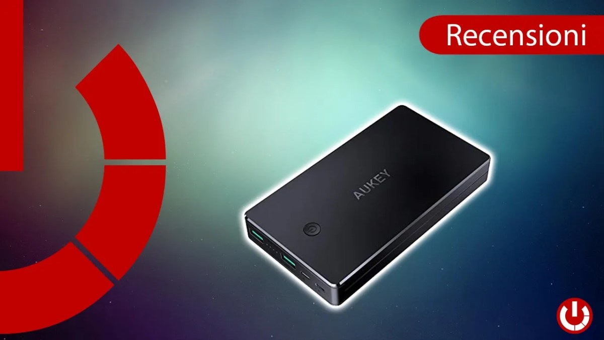 Recensione Power Bank Aukey 20.000mAh a 18€