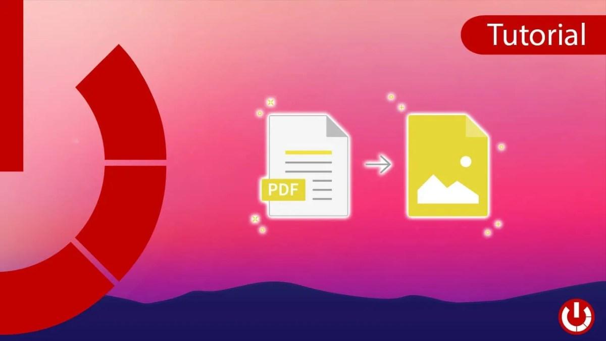 Scopri come convertire file PDF in JPG