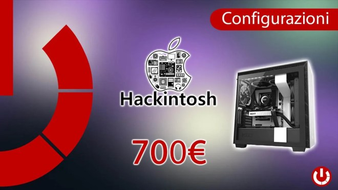Configurazione Hackintosh a 700€ compatibile con Catalina