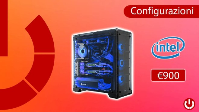 Configurazione PC da Gaming Intel da 900€