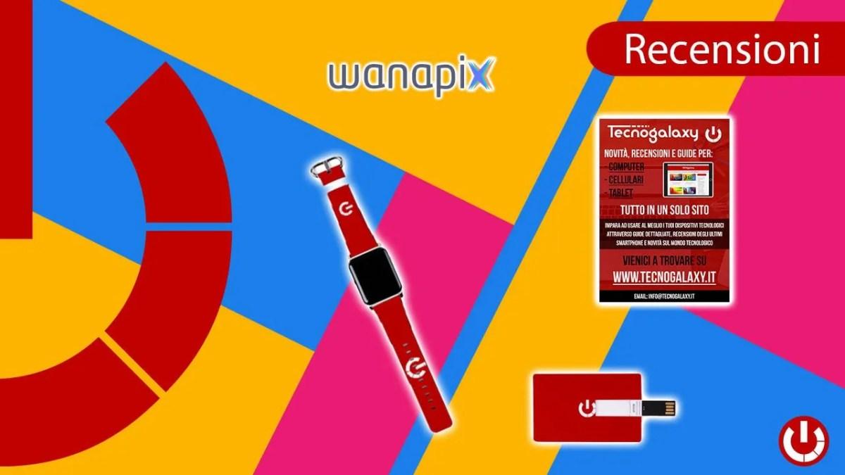 Recensione prodotti personalizzabili Wanapix