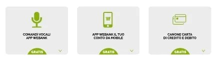 Conto corrente on-line gratis con Webank