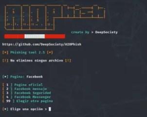 Come fare un attacco Phishing con AIOPhish