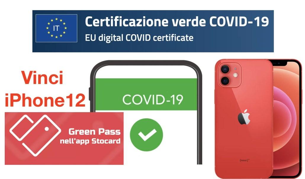 Stocard: integra il Green Pass e Vinci iPhone 12