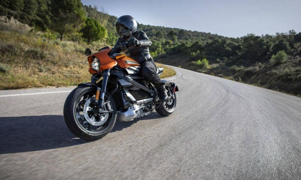 nueva Harley eléctrica