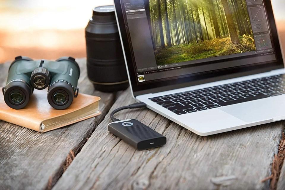 Mejores discos duros SSD externos 2019- G-Technology G-Drive Mobile