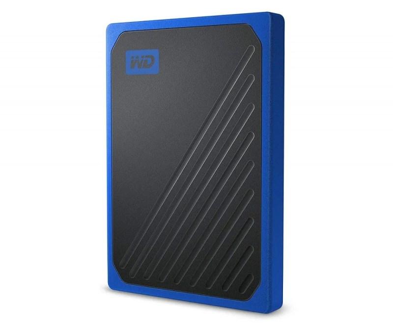 Mejores discos duros SSD externos - WD My passport go