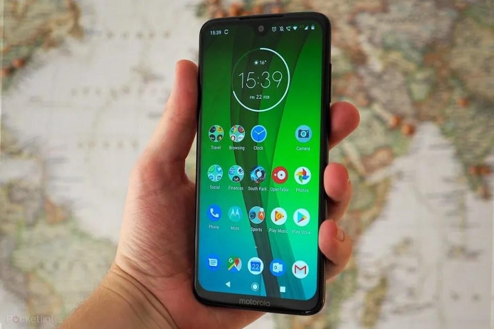Motorola Moto G7 Plus cámara
