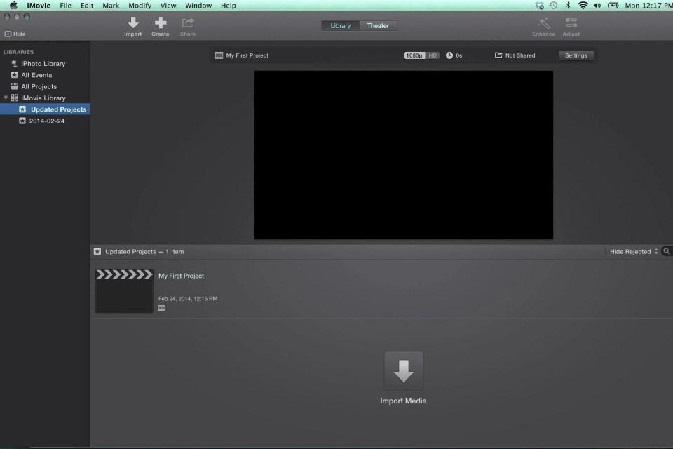 iMovie, una de las mejores aplicaciones para editar vídeos desde el móvil
