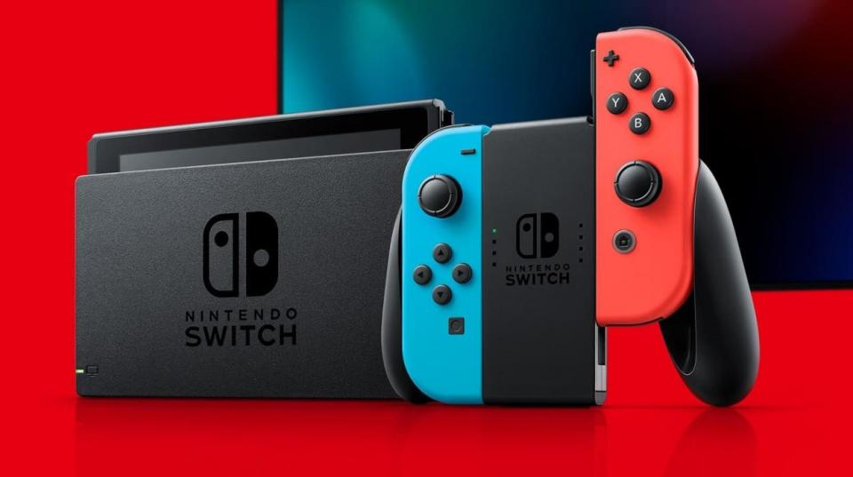 La consola Nintendo Switch