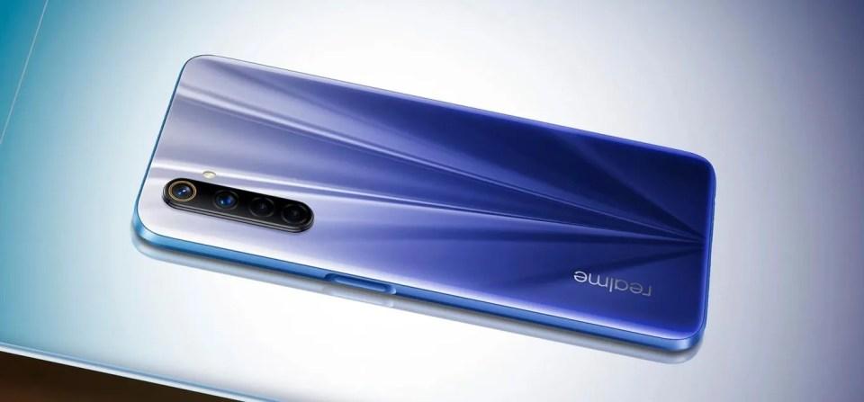 Smartphone Realme 6 de gama media