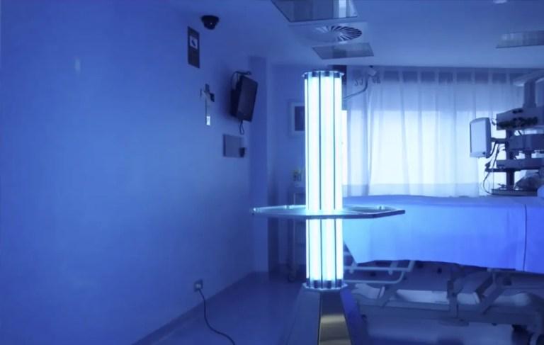esterilizadores UV