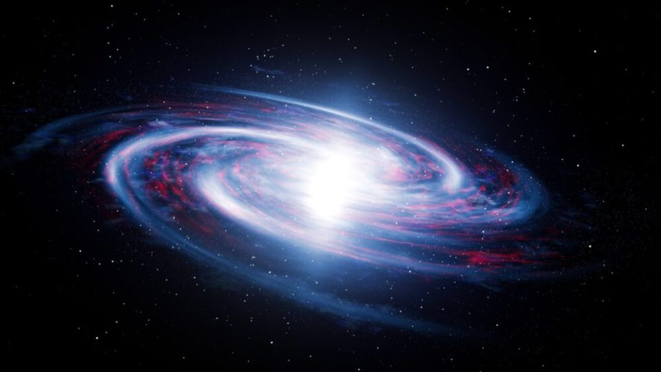 universo expandiéndose o contrayéndose
