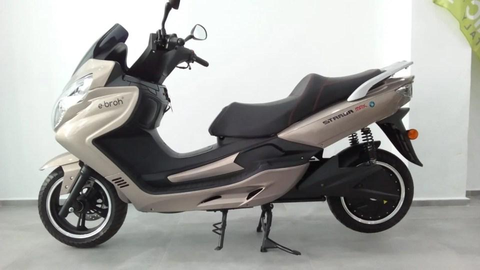 Strada, otra de las mejores motos eléctricas equivalentes a 125