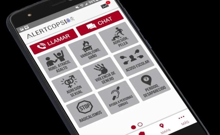 AlertCops, la app de la Policia