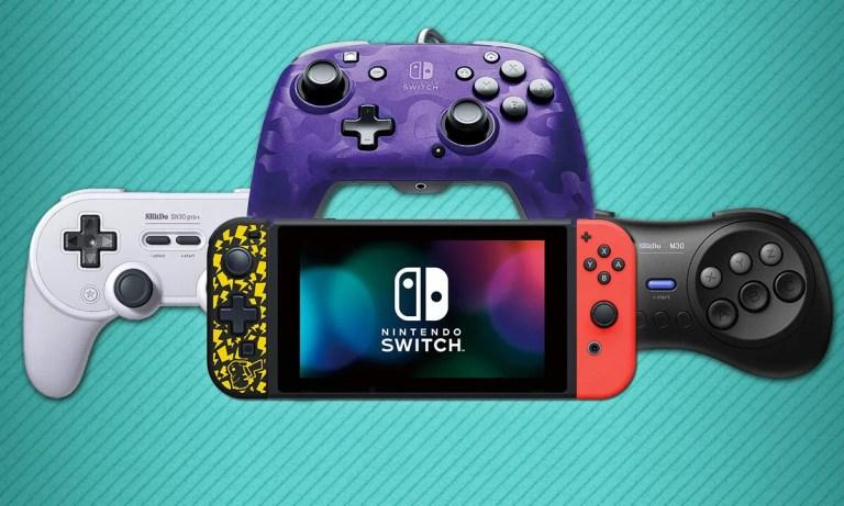 mejores mandos no oficiales compatibles con la Nintendo Switch