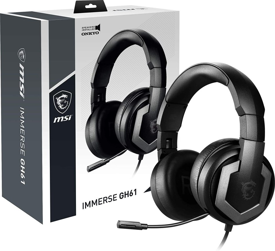 Auriculares MSI Immerse GH61