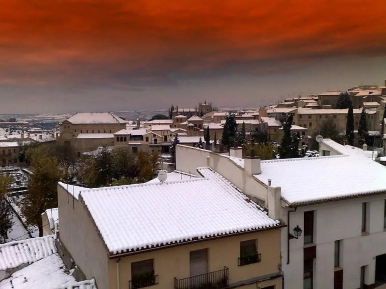 Toledo es una de las ciudades que se vio afectada por las heladas en España
