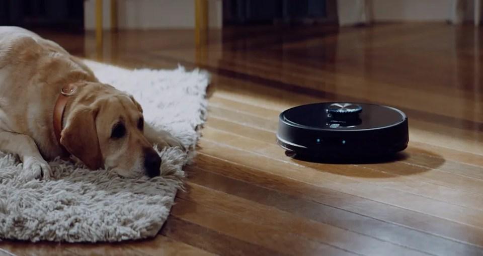 El robot aspirador Conga 7090 es el primer robot de limpieza inteligente