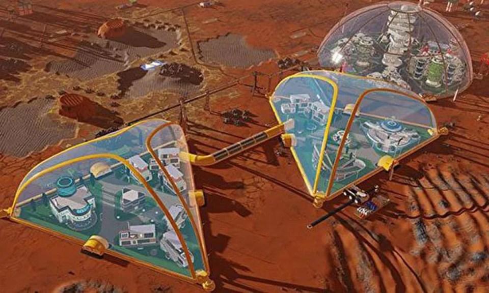 Desarrolladores de la nueva actualización del videojuego Surviving Mars