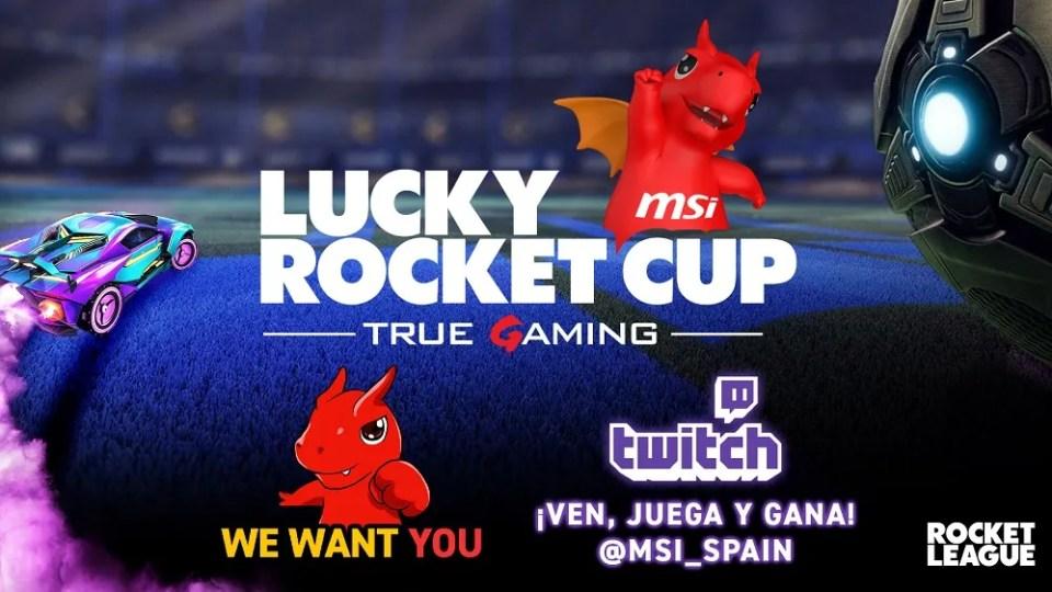 La convocatoria del MSI Lucky Rocket Cup es solo para España