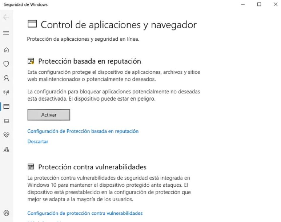 El sistema detectará las aplicaciones maliciosas