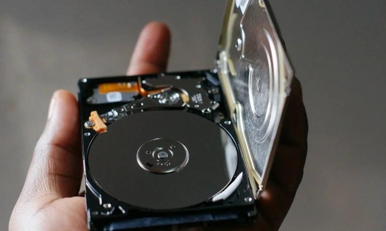 reparar un disco duro externo